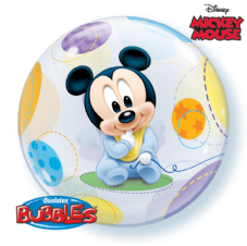 Disney Baby Mickey Bubble Balloon